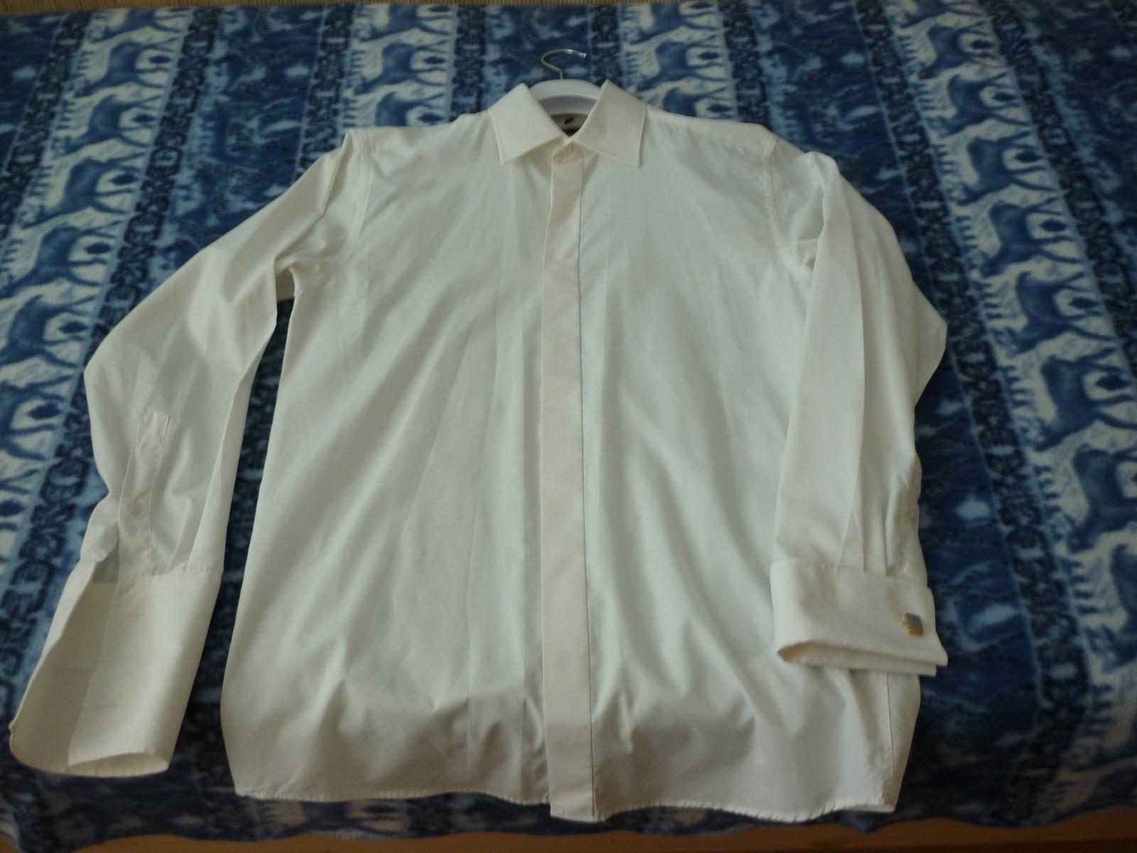 svadobná maslová košeľa - Obrázok č. 1