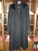 čierny dámsky kabát, 44