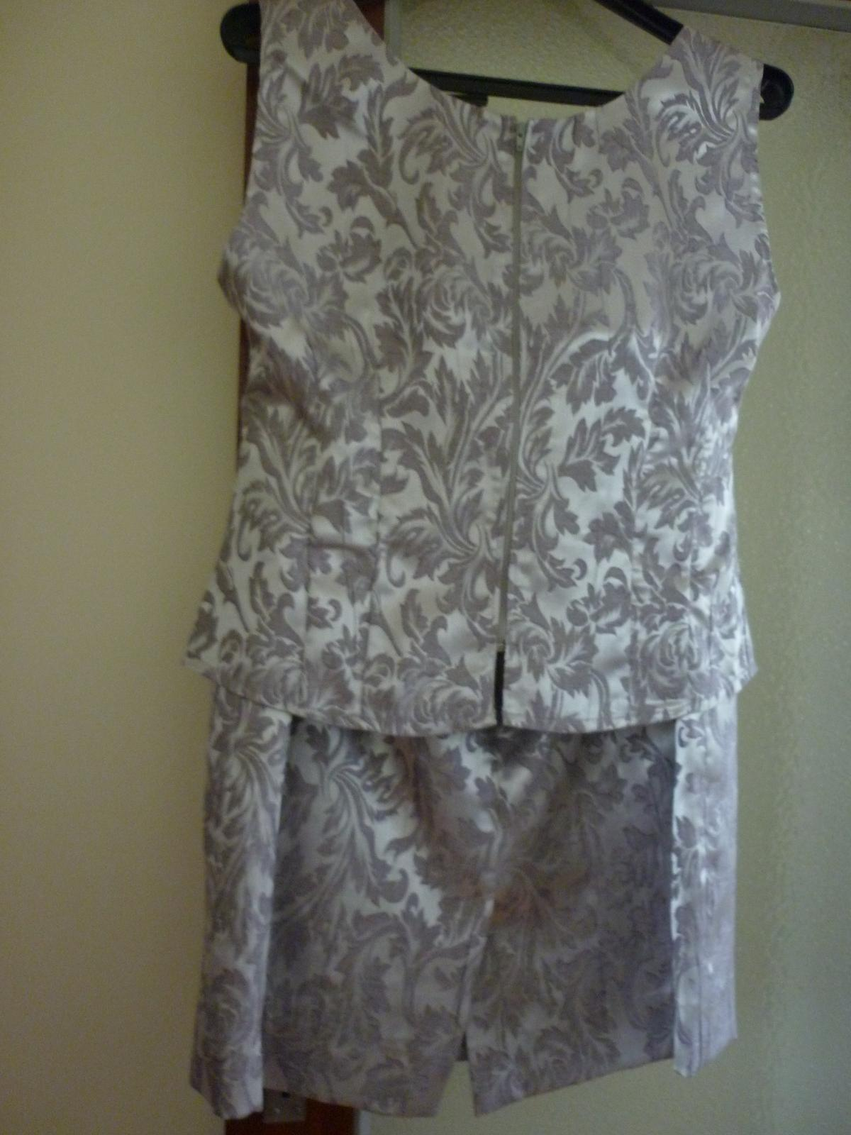 sukňový kostým - Obrázok č. 3