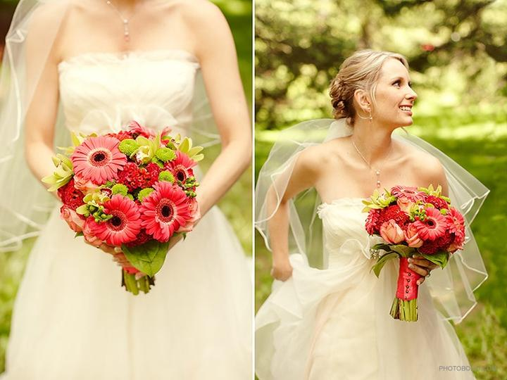 Inspirace - růžovo zelená svatba - Obrázek č. 227