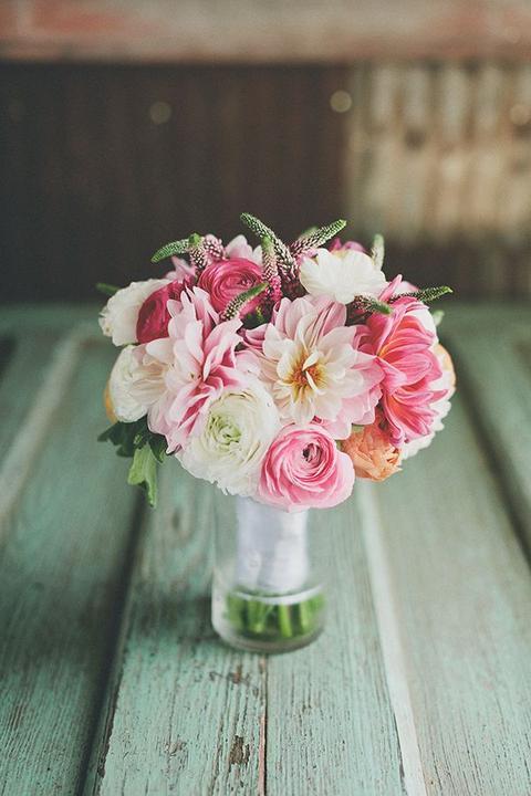 Inspirace - růžovo zelená svatba - Obrázek č. 194