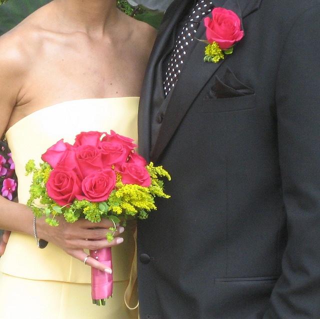 Inspirace - růžovo zelená svatba - Obrázek č. 230