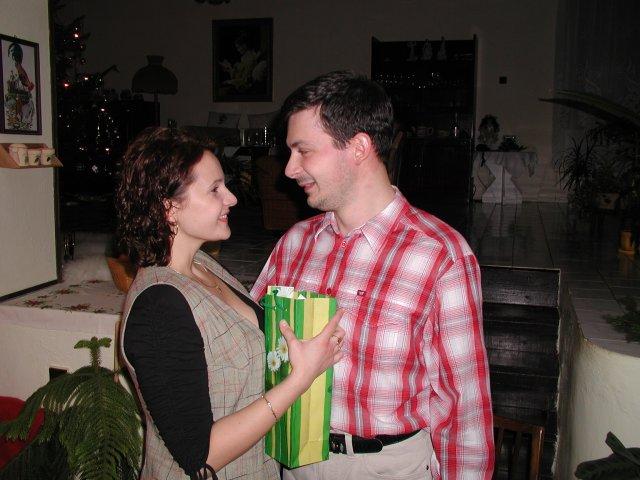 Svadba 29.april 2006_Erika a Marek - Naše zásnuby 24.12.2004