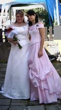 Já a sestra Kateřina, která mi šla za drůžičku