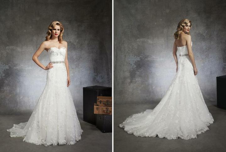 Svatební šaty Justin Alexander 2013 - Obrázek č. 3
