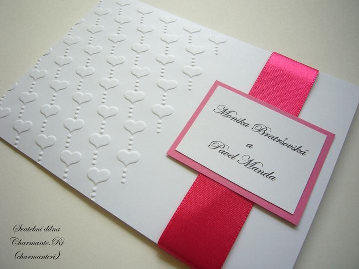 Růžovo - bílá svatba - Obrázek č. 35