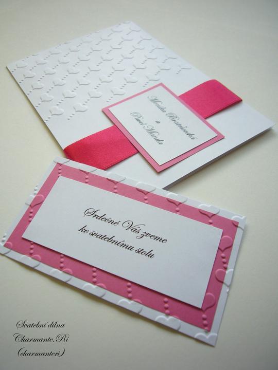 Růžovo - bílá svatba - Obrázek č. 36