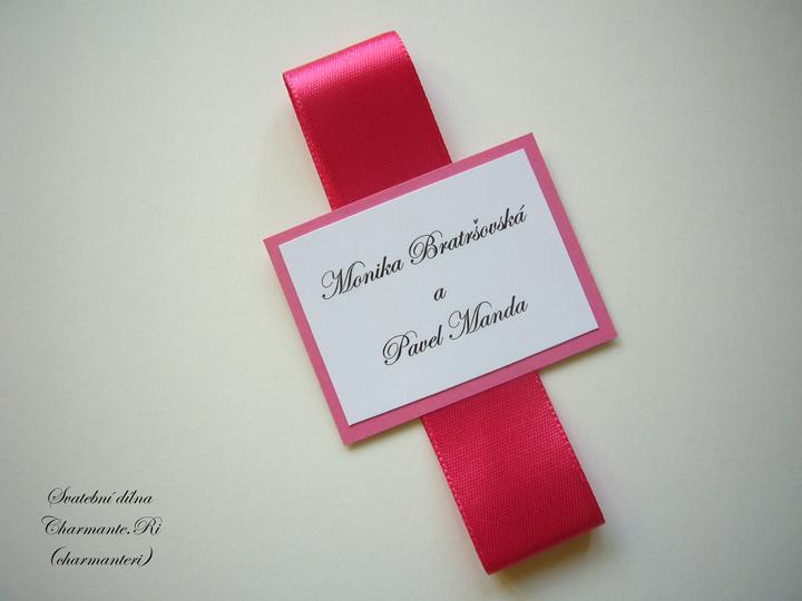 Růžovo - bílá svatba - Obrázek č. 37
