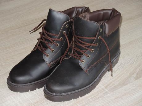 Pracovné topánky hnedé - Obrázok č. 1