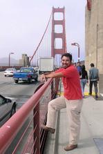 To je on, meho srdce champion!!! Jeden z nasich prvnich vyletu, San Francisco 2006
