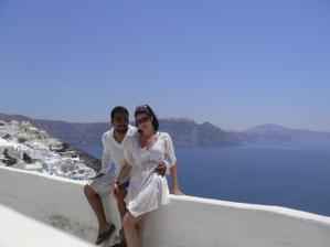Svatebni cesta ,Santorini