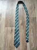 Zelená pruhovaná kravata,