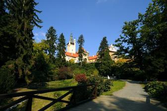 krásný Průhonický zámek