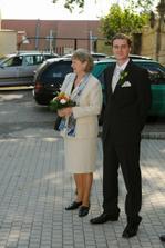čekání na příjezd nevěsty :-)