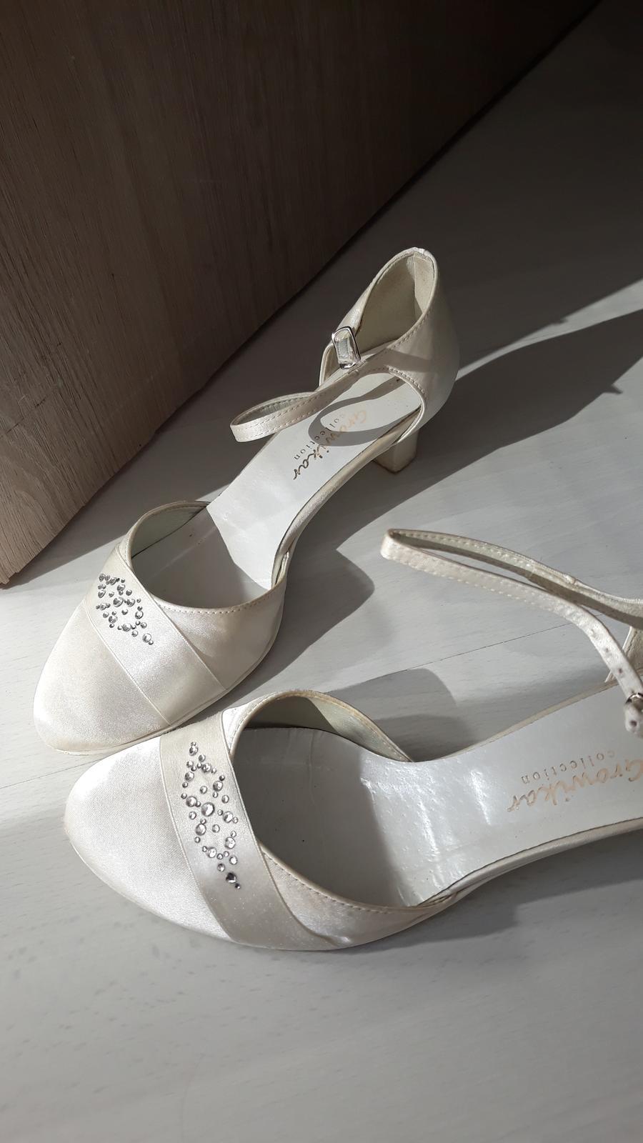 Svadobné topánky growikar - Obrázok č. 3