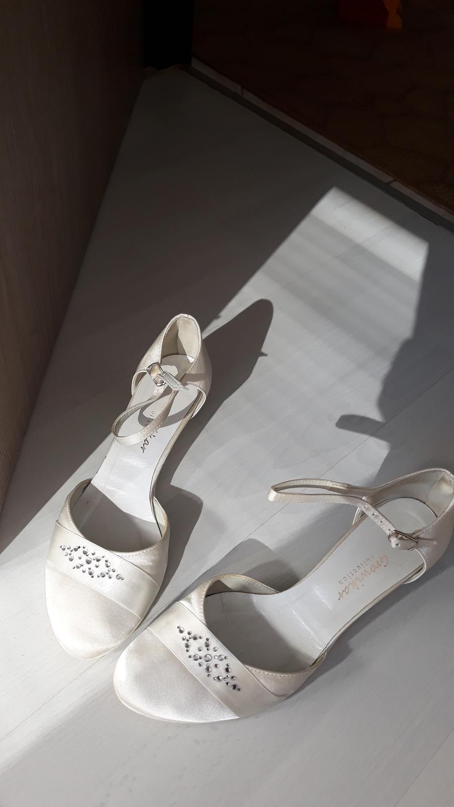 Svadobné topánky growikar - Obrázok č. 1