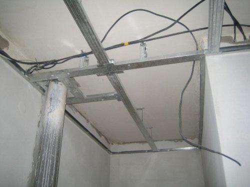 My...rekonstrukcia - sadrokarton v chodbe