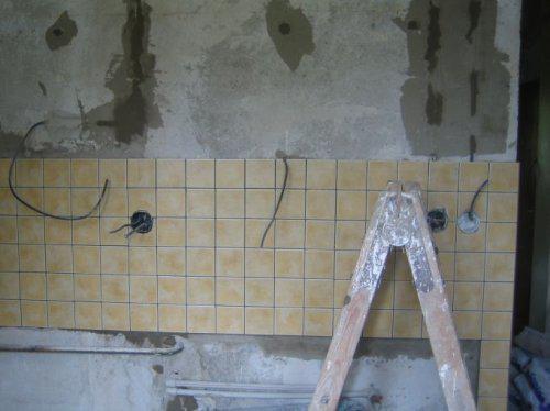 My...rekonstrukcia - obklad v kuchyni