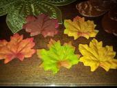 Ozdobné javorové listy - jeseň,