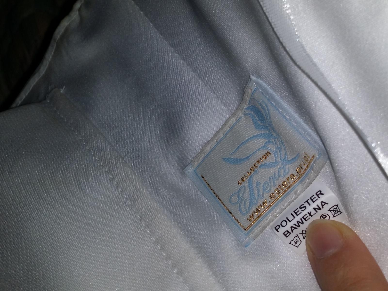 Šaty + bolerko z rovnakej čipky - Obrázok č. 4