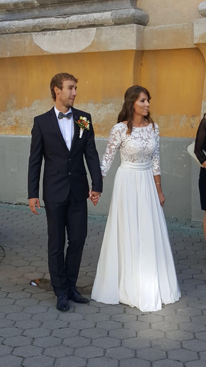 Romantické svadobné šaty - Obrázok č. 1