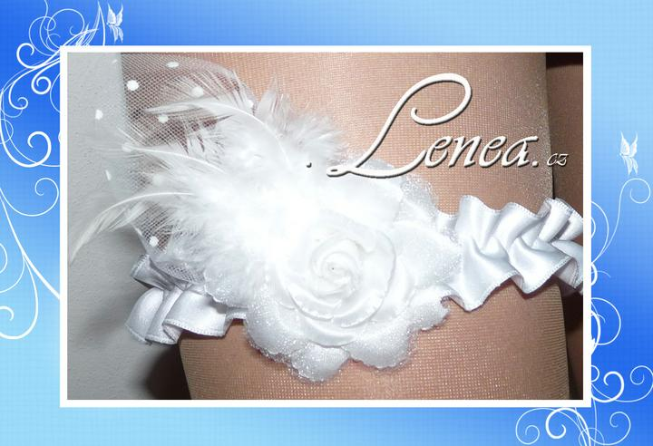 Podvazky pro nevěsty-od novinek po tradici - ..barevné změny jsou jen na Vás...