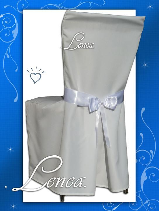 Svatební potahy na židle-zapůjčení,prodej i šití na míru - Obrázek č. 9