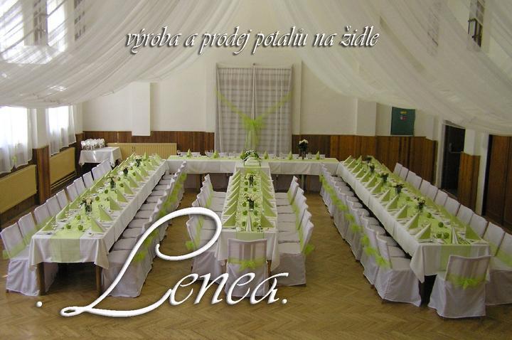 Svatební potahy na židle-zapůjčení,prodej i šití na míru - Obrázek č. 16