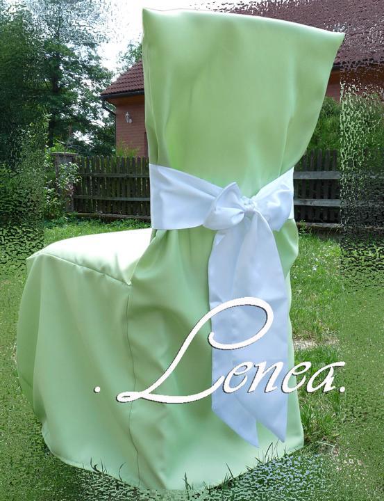 Svatební potahy na židle-zapůjčení,prodej i šití na míru - Obrázek č. 27
