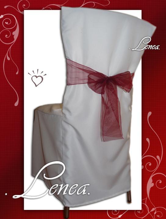 Svatební potahy na židle-zapůjčení,prodej i šití na míru - Obrázek č. 69