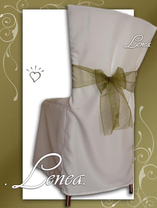 Svatební potahy na židle-zapůjčení,prodej i šití na míru - Obrázek č. 73