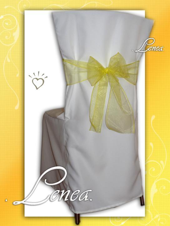 Svatební potahy na židle-zapůjčení,prodej i šití na míru - Obrázek č. 78