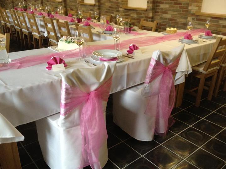 Svatební potahy na židle-zapůjčení,prodej i šití na míru - Obrázek č. 92