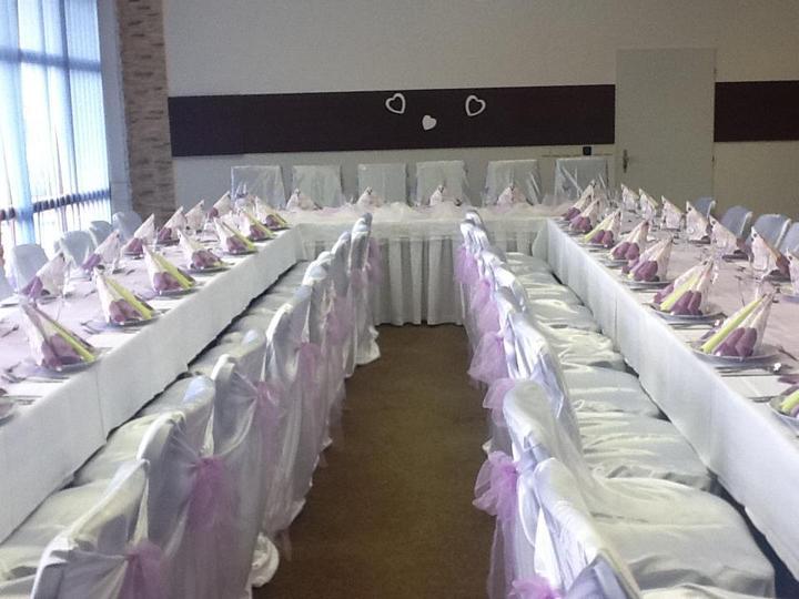 Svatební potahy na židle-zapůjčení,prodej i šití na míru - Obrázek č. 100