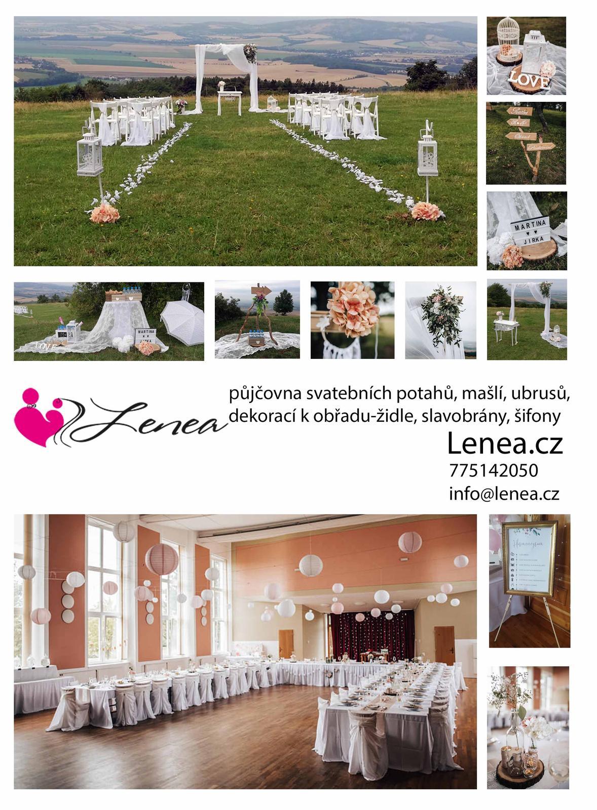 Svatební půjčovna-Lenea - Obrázek č. 1