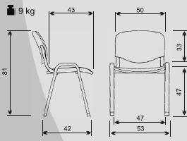 Potah na kancelářskou židli - Obrázek č. 2