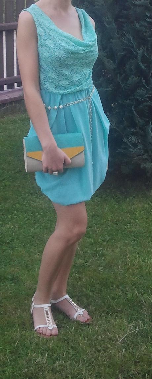 krátke šaty S/M - Obrázok č. 2
