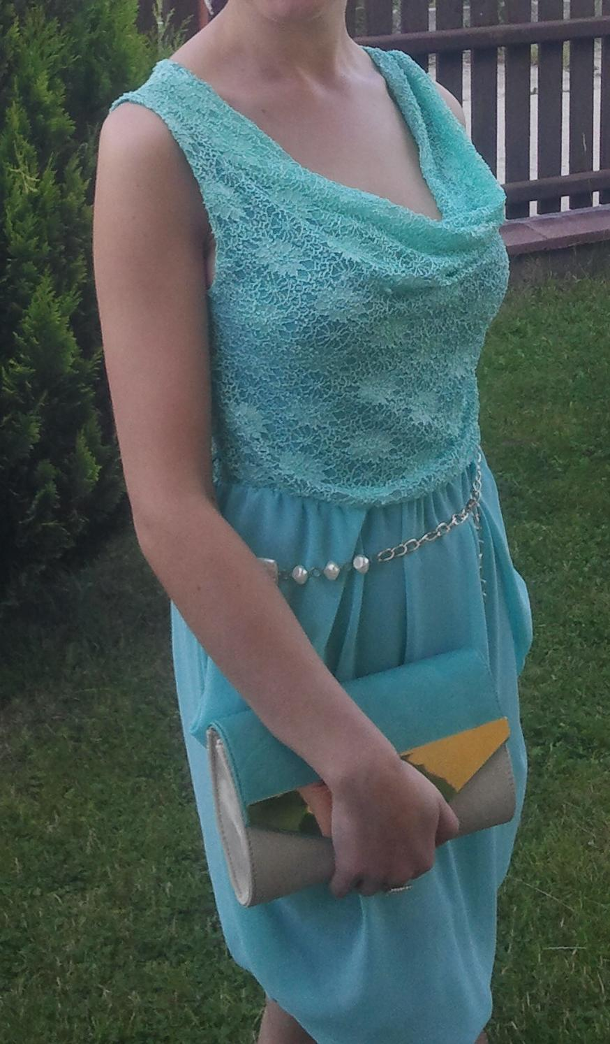 krátke šaty S/M - Obrázok č. 1