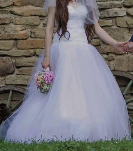 svadobné šaty so Swarovski kamienkami  - Obrázok č. 2