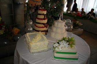 svadobne torty...