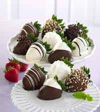 ano jahůdky a čokoláda - dokonalá kombinace!!!