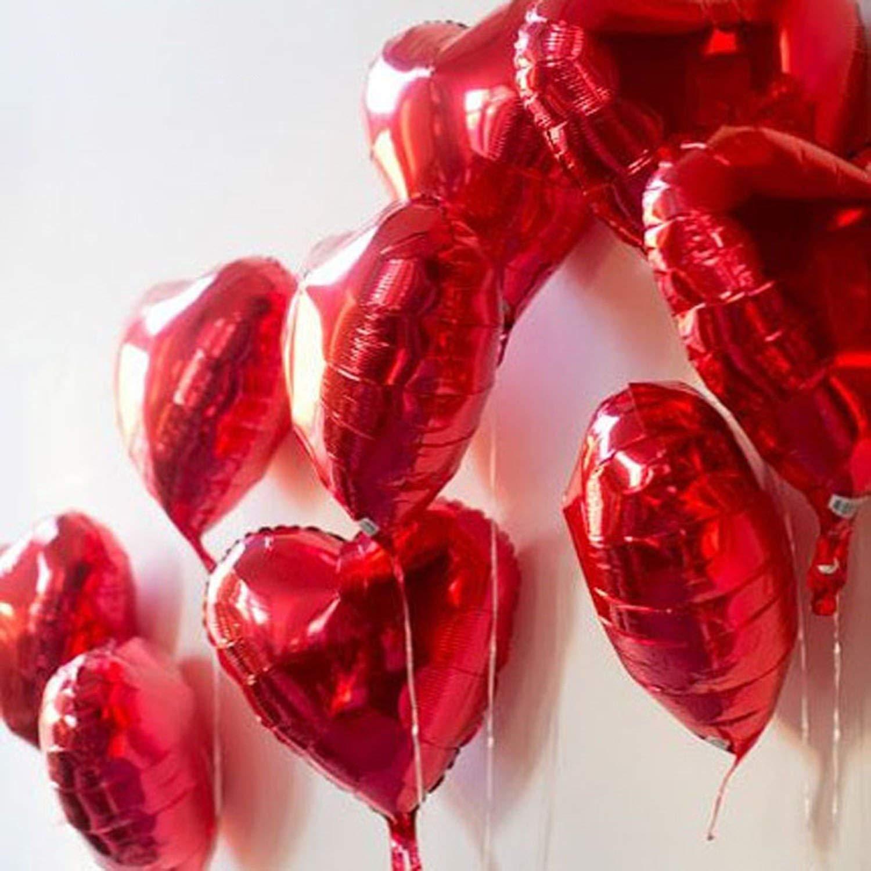 Balony - cervene srdcia - Obrázok č. 1