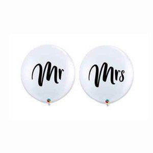 Svadobne balony - Mr & Mrs - Obrázok č. 1