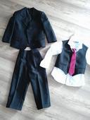 Chlapecký svatební oblek , košile , boty , 92