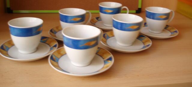 Nepoužitá kávová - čajová súprava - Obrázok č. 1