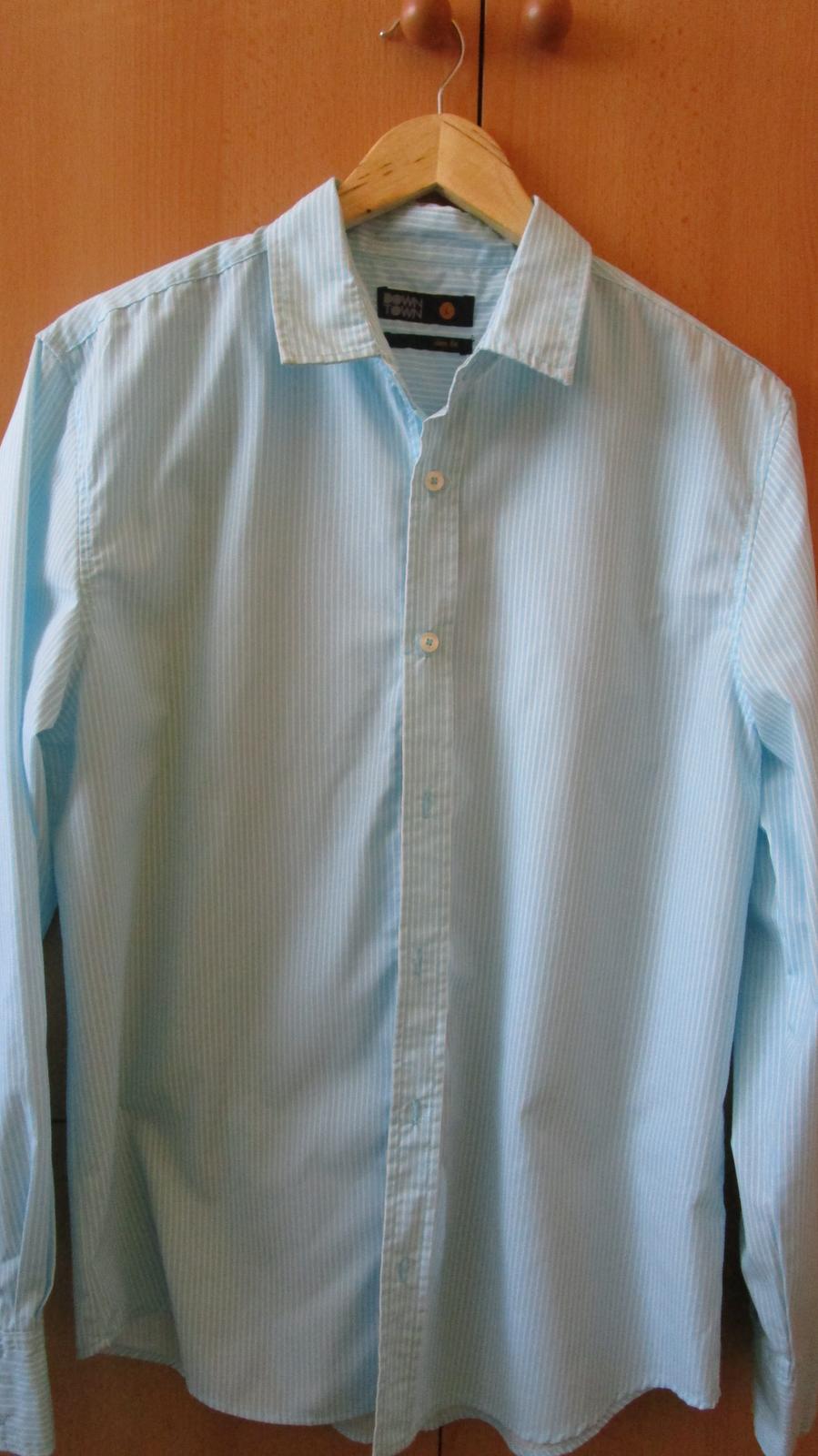 Pánska košeľa - Down Town - Obrázok č. 1