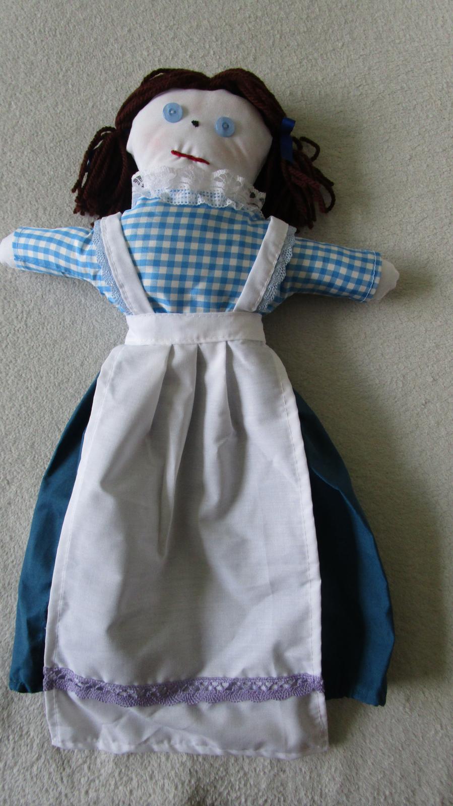 Nepoužívaná bábika na igelitové sáčky - Obrázok č. 1