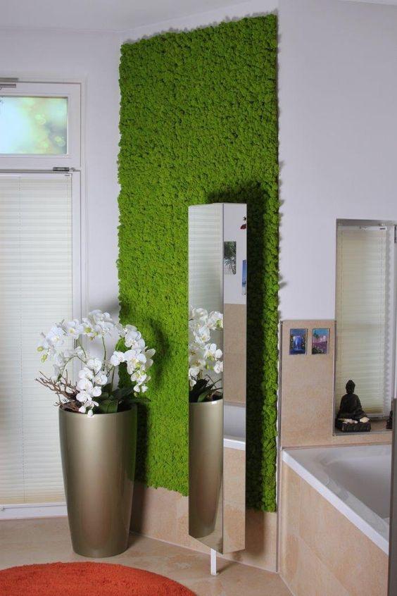 Novinka - Islandský mach - lišajník v interieri , nechajte sa inšpirovať ...v našej ponuke teraz obraz v drevenom ráme - Obrázok č. 1