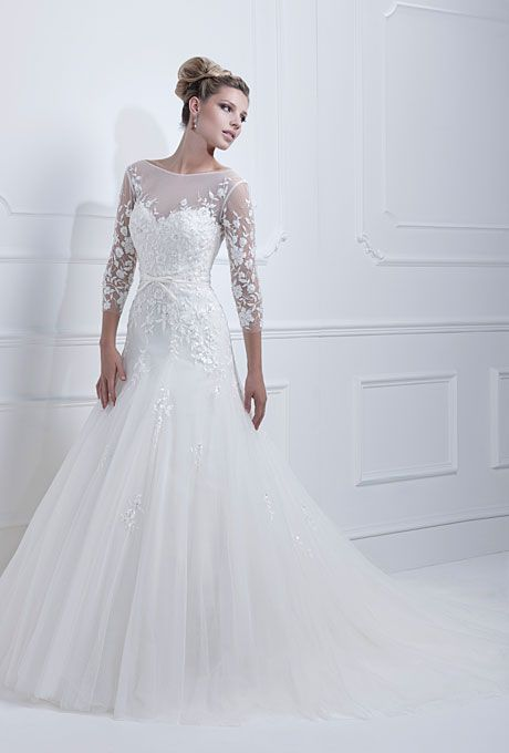 Svatební šaty - těžké si vybrat ty nejhezčí - Obrázek č. 1