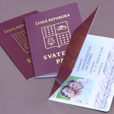 svatební pas